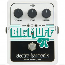 Electro Harmonix Big Muff Pi with Tone Wicker, Distortion/Sustainer Pedal
