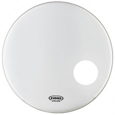 Evans EQ3 Resonant Smooth White Bass Drum Head - 20""