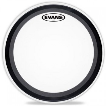 Evans EMAD Coated White Bass Drum Head - 20""