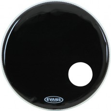 Evans EQ3 Resonant Black Bass Drum Head - 20""