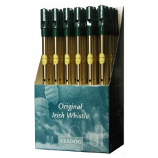 Feadog Brass D Whistle - Box of 36