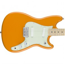 Fender Duo-Sonic, Maple Fingerboard - Capri Orange