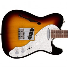Fender Deluxe Telecaster Thinline, Rosewood Fingerboard - 3 Colour Sunburst
