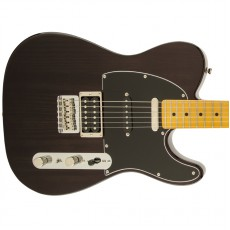 Fender Modern Player Telecaster Plus, Maple Fingerboard - Charcoal Transparent