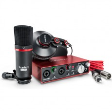 Focusrite Scarlett 2i2 Studio (2nd Gen) Home Recording Studio Pack