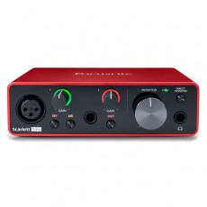 Focusrite Scarlett Solo 3rd-Generation Audio Interface