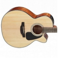 Takamine GN30CENAT NEX Cutaway Electro Acoustic Guitar, Natural Gloss Solid Spruce Top, Mahogany B&S