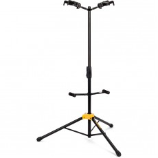 Hercules GS422B Auto Grip Double Guitar Stand