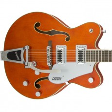 Gretsch G5422T Electromatic Hollow Body Double Cutaway with Bigsby - Orange Stain