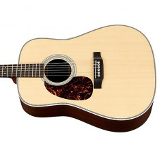 Martin HD-28L Left Hand Acoustic - Natural (Includes Case)