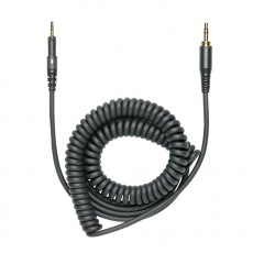Audio Technica M40X/M50X Replacement Cable curl cord 3m Black