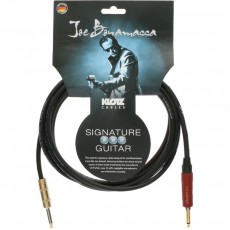 Klotz Joe Bonamassa Instrument Cable - 6m Black w/Silent Plug