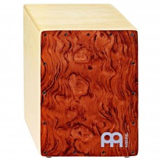 MEINL Percussion Jam Cajon Natural with Bubinga frontplate