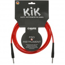 Klotz KIK Red Instrument Cable - 6m Red