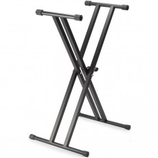 Stagg KXS-A6 Double Braced X Keyboard Stand - Black