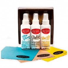 Kyser KCPK1 Guitar Care Pack w/Polish Cloth - 3 Bottles