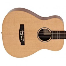 Martin LX1E Semi Acoustic - Natural (Includes Case)