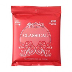 Martin M160 Silverplated Ball End High Tension Classical Strings (.028-.043)