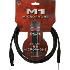 Klotz M1 3m Unbalanced Mic Cable w/Neutrik XLR and Jack Plug - M1FP1N0300