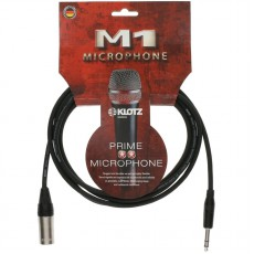Klotz M1 2m Mic Cable w/Klotz XLR and Balanced Jack Plug - M1MS1K0200
