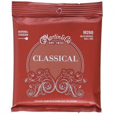Martin M260 80/20 Bronze Ball End Regular Tension Classical Guitar Strings