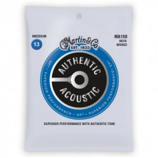Martin MA150 Authentic Acoustic SP Strings, 80/20 Bronze Medium (.013-.056)