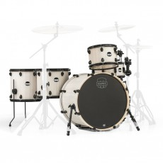 Mapex Mars 5 Piece Crossover Shell Pack in Bonewood with Black Hardware- MA528SFBAW