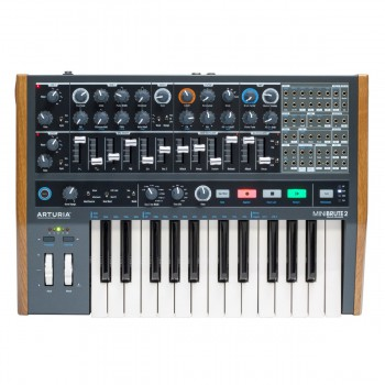 Arturia Minibrute 2 Semi-Modular Analogue Synthesizer
