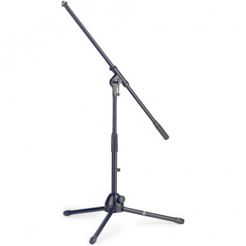 Stagg MIS-0804BK Low Telescopic Microphone Boom Stand