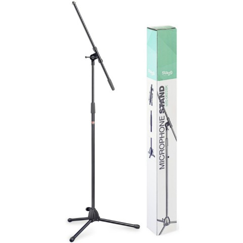 Stagg MIS-0822BK Microphone Boom Stand - Black