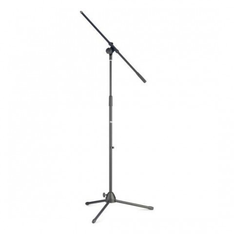 Stagg MIS-1022BK Microphone Boom Stand - Black