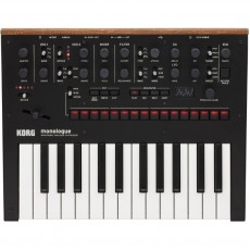 Korg Monologue - Monophonic Analogue Synthesizer in Black