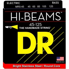 DR Strings MR545 5-String Stainless Steel Medium Bass Strings (0.45-.125)