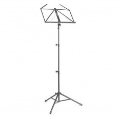 Stagg MUS-A4 BK Collapsible Music Stand, 3 Sections, with Bag