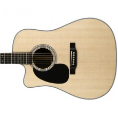 Martin Left Hand DC-28EL Semi Acoustic - Natural (Includes Case)