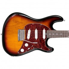 MusicMan Sterling CT50 Cutlass Electric Guitar - 3-Tone Sunburst, Rosewood Neck