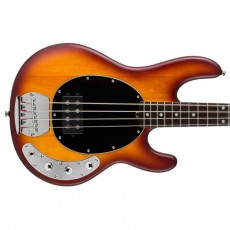 Music Man Sterling SUB Ray4 Electric Bass - Honey Burst Satin, Rosewood Neck