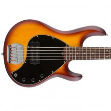 MusicMan Sterling SUB Ray5 Electric Bass - Honey Burst Satin, Rosewood Neck