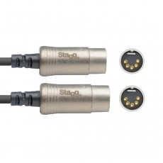 Stagg NMD1R N-Series MIDI Cable, 1 Metre