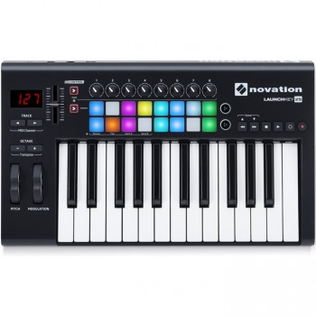 Novation Launchkey 25 Keyboard Controller For Ableton Live MK2