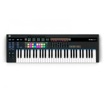 Novation 61SL MkIII - MIDI and CV Equipped Keyboard Controller with 8 Track Sequencer