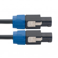 Stagg NSP1,5SS15BR N-Series Professional Speaker Cable - Speakon to Speakon, 5ft