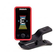 D'addario PW-CT-17RD Eclipse Tuner, Red