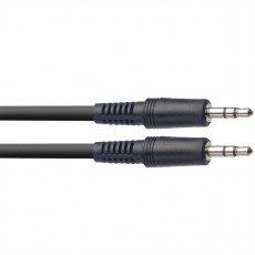 Stagg SAC2MPS 2m / 6ft Audio Cable 3.5mm Mini Jack - Mini Jack