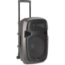 Stagg RE-VOLT 12 2-Way 160-Watt Active Trolley Speaker with 2 Microphones