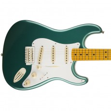 Squier Classic Vibe Stratocaster '50s w/ Maple Fingerboard - Sherwood Green Metallic with Matching Headcap