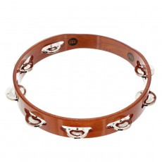 Meinl TA1A-AB Wood Tambourine with Single Row - Aluminum