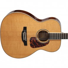 Takamine CP7MOTT Thermal Top Semi Acoustic - Natural (Includes Case)