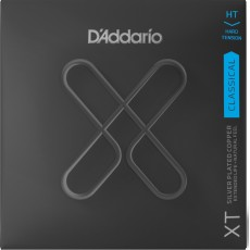 D'Addario XTC46 Classical Guitar Strings, Silver Plated Copper, Hard Tension