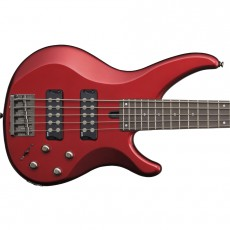 Yamaha TRBX305 5-String Electric Bass - Candy Apple Red
